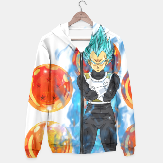 Dragon Ball Super Vegeta Super Saiyan Blue Hoodie miniature
