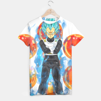 Dragon Ball Super Vegeta Super Saiyan Blue T-shirt miniature