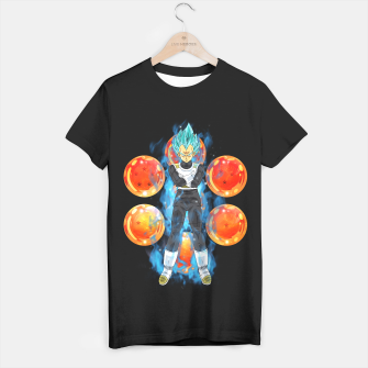 Dragon Ball Super Vegeta Super Saiyan Blue T-shirt regular miniature
