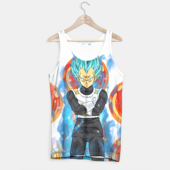 Dragon Ball Super Vegeta Super Saiyan Blue Tank Top miniature
