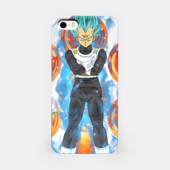Dragon Ball Super Vegeta Super Saiyan Blue iPhone Case miniature