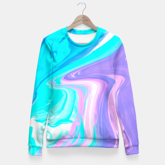 Thumbnail image of Touch The Sky Fitted Waist Sweater, Live Heroes