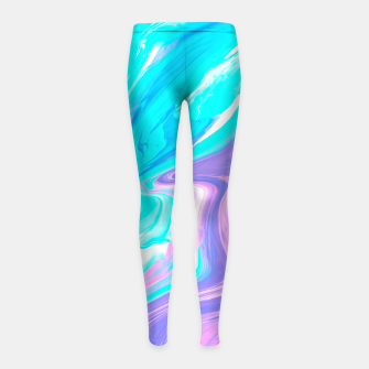 Thumbnail image of Touch The Sky Girl's Leggings, Live Heroes