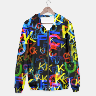 Thumbnail image of Most Colorful Word Hoodie, Live Heroes