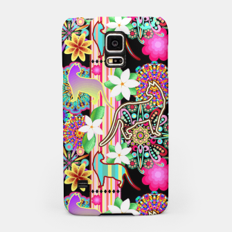 Thumbnail image of Mandalas, Cats & Flowers Fantasy Pattern  Samsung Case, Live Heroes