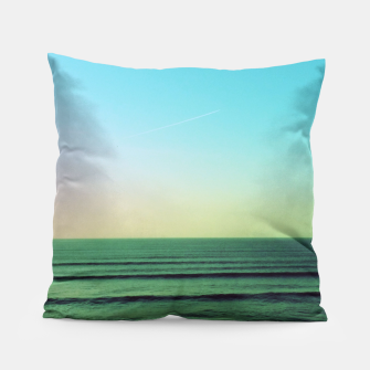 Thumbnail image of Winter blues Pillow, Live Heroes