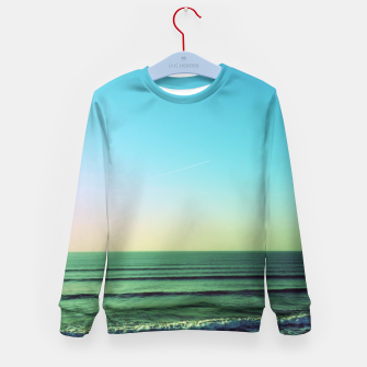 Thumbnail image of Winter blues Kid's Sweater, Live Heroes