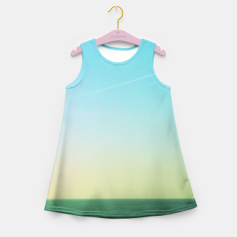 Thumbnail image of Winter blues Girl's Summer Dress, Live Heroes