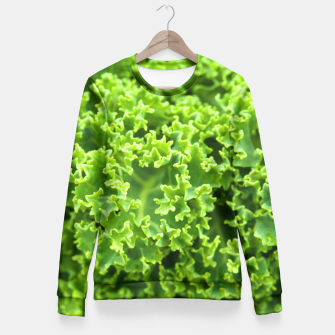 Thumbnail image of Cabbage pattern Fitted Waist Sweater, Live Heroes