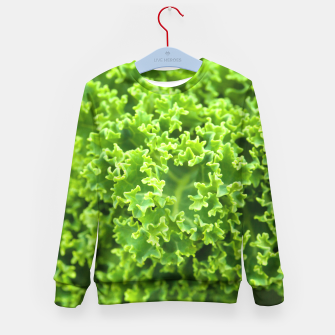 Thumbnail image of Cabbage pattern Kid's Sweater, Live Heroes