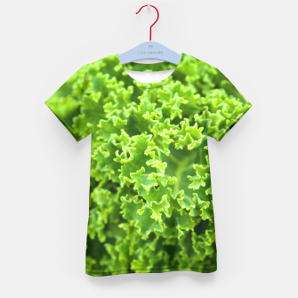 Thumbnail image of Cabbage pattern Kid's T-shirt, Live Heroes
