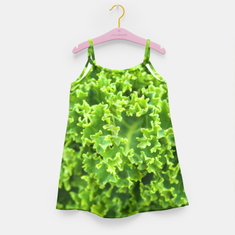 Thumbnail image of Cabbage pattern Girl's Dress, Live Heroes