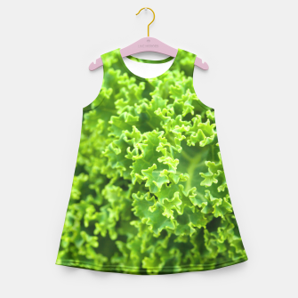 Thumbnail image of Cabbage pattern Girl's Summer Dress, Live Heroes