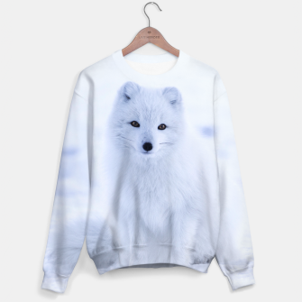 Thumbnail image of White Fox Photography Sweater, Live Heroes