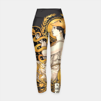 Thumbnail image of PALLAS ATHENA Leggings de yoga, Live Heroes