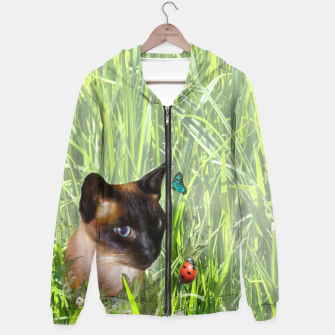 Thumbnail image of Shopie among tall grass Hoodie, Live Heroes