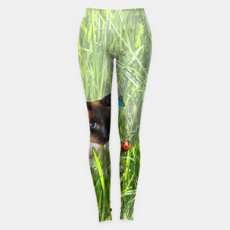Thumbnail image of Shopie among tall grass Leggings, Live Heroes