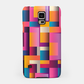 Thumbnail image of Colorful Geometric Square pattern Samsung Case, Live Heroes
