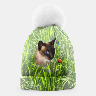 Thumbnail image of Shopie among tall grass Beanie, Live Heroes
