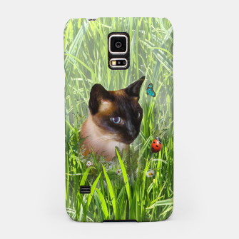 Thumbnail image of Shopie among tall grass Samsung Case, Live Heroes