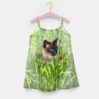 Thumbnail image of Shopie among tall grass Girl's Dress, Live Heroes