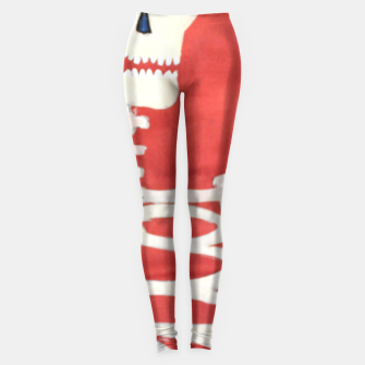 Thumbnail image of three skeletons Leggings, Live Heroes