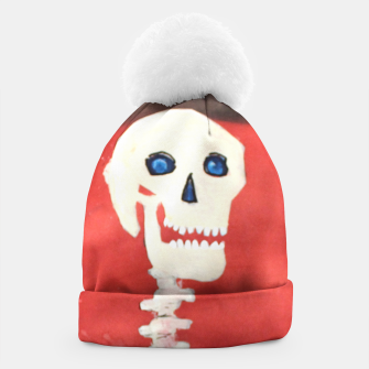Thumbnail image of three skeletons Beanie, Live Heroes