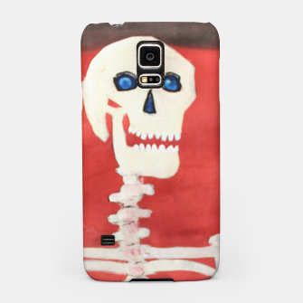 Thumbnail image of three skeletons Samsung Case, Live Heroes
