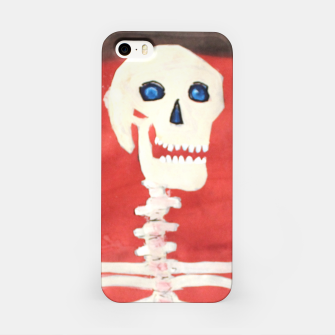 Thumbnail image of three skeletons iPhone Case, Live Heroes