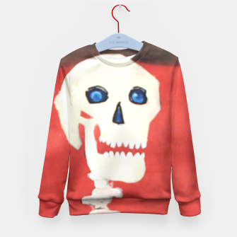 Thumbnail image of three skeletons Kid's Sweater, Live Heroes