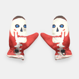 Thumbnail image of three skeletons Gloves, Live Heroes