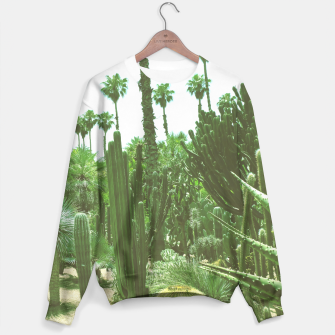 Thumbnail image of Tropical Cacti Gardens and Greenery Sweater, Live Heroes