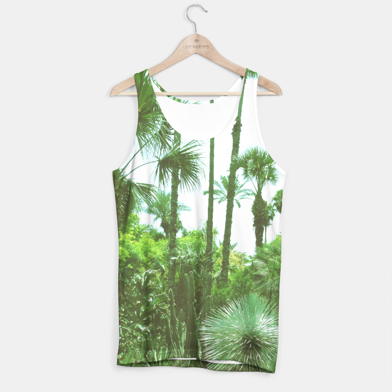 Image of Tropical Cacti Gardens and Greenery Tank Top - Live Heroes