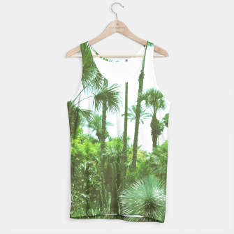 Tropical Cacti Gardens and Greenery Tank Top thumbnail image