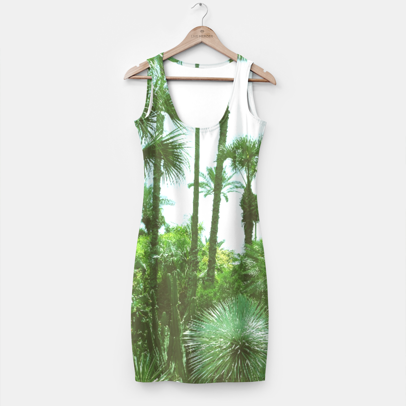 Image of Tropical Cacti Gardens and Greenery Simple Dress - Live Heroes