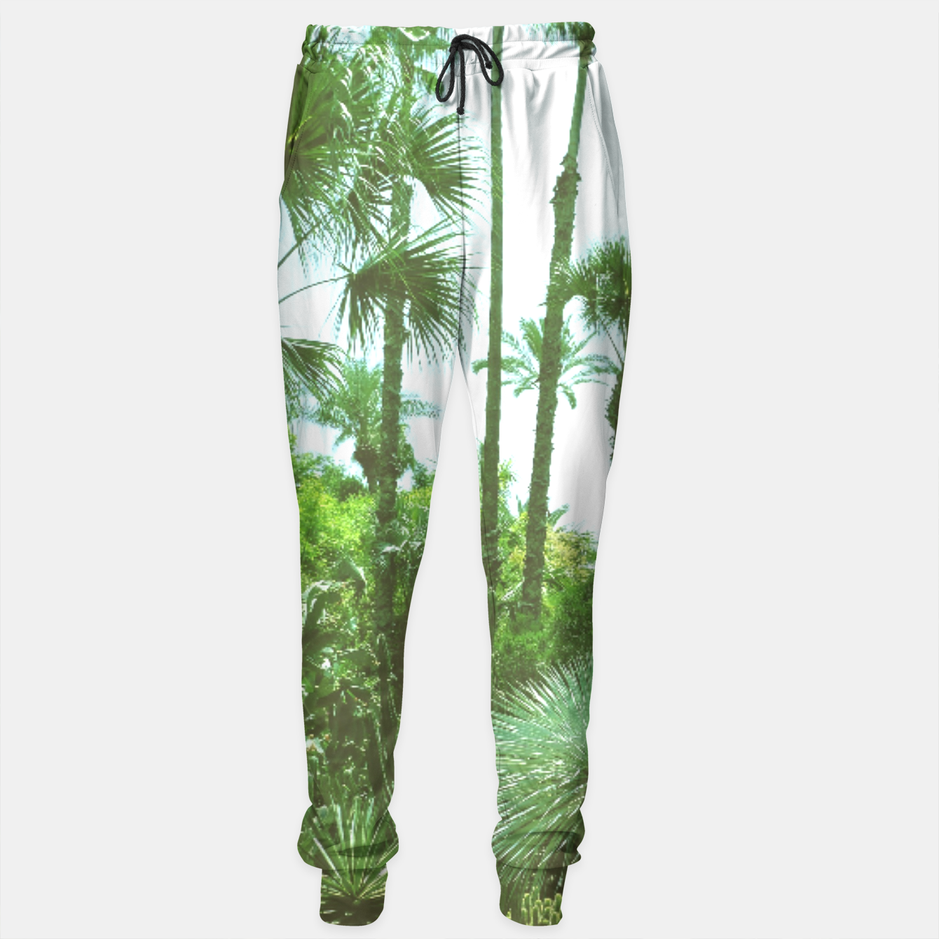 Image of Tropical Cacti Gardens and Greenery Sweatpants - Live Heroes