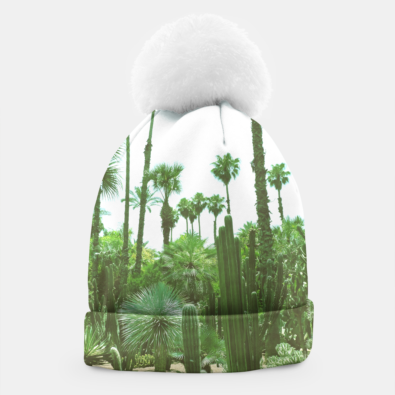 Image of Tropical Cacti Gardens and Greenery Beanie - Live Heroes