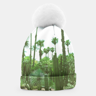 Thumbnail image of Tropical Cacti Gardens and Greenery Beanie, Live Heroes