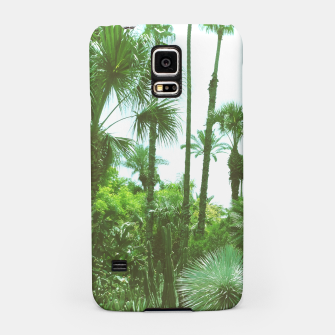 Thumbnail image of Tropical Cacti Gardens and Greenery Samsung Case, Live Heroes