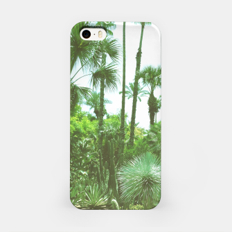Tropical Cacti Gardens and Greenery iPhone Case thumbnail image