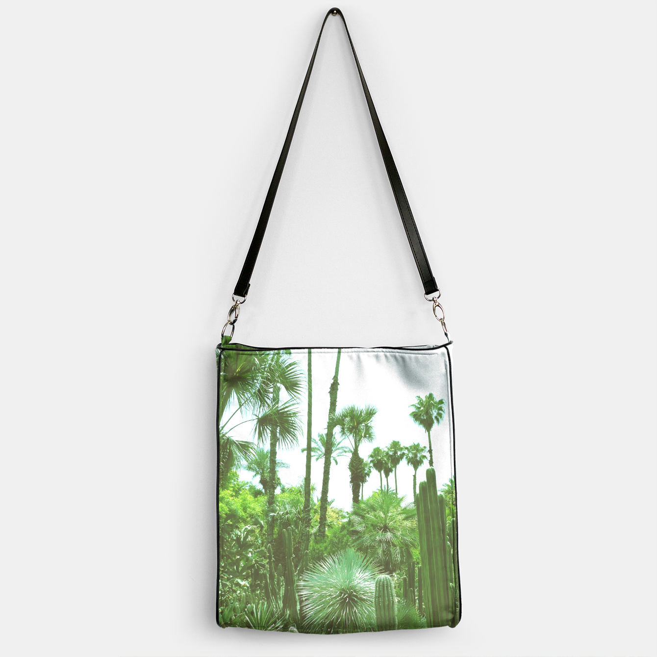 Image of Tropical Cacti Gardens and Greenery Handbag - Live Heroes