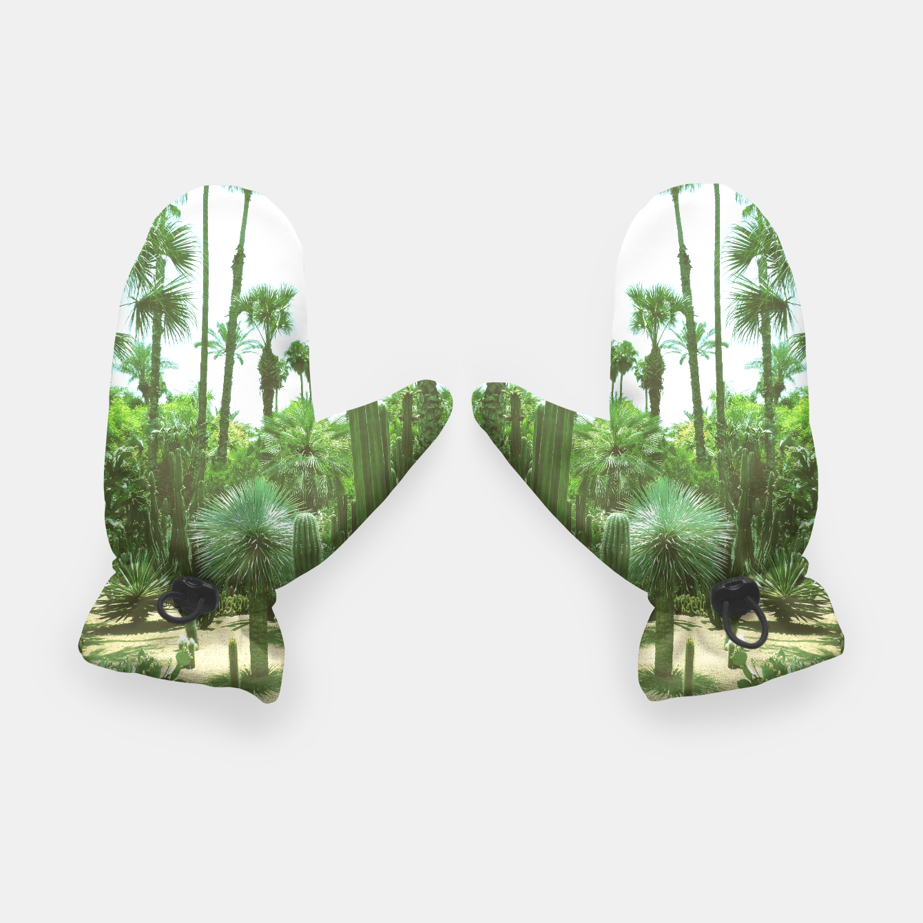 Image of Tropical Cacti Gardens and Greenery Gloves - Live Heroes