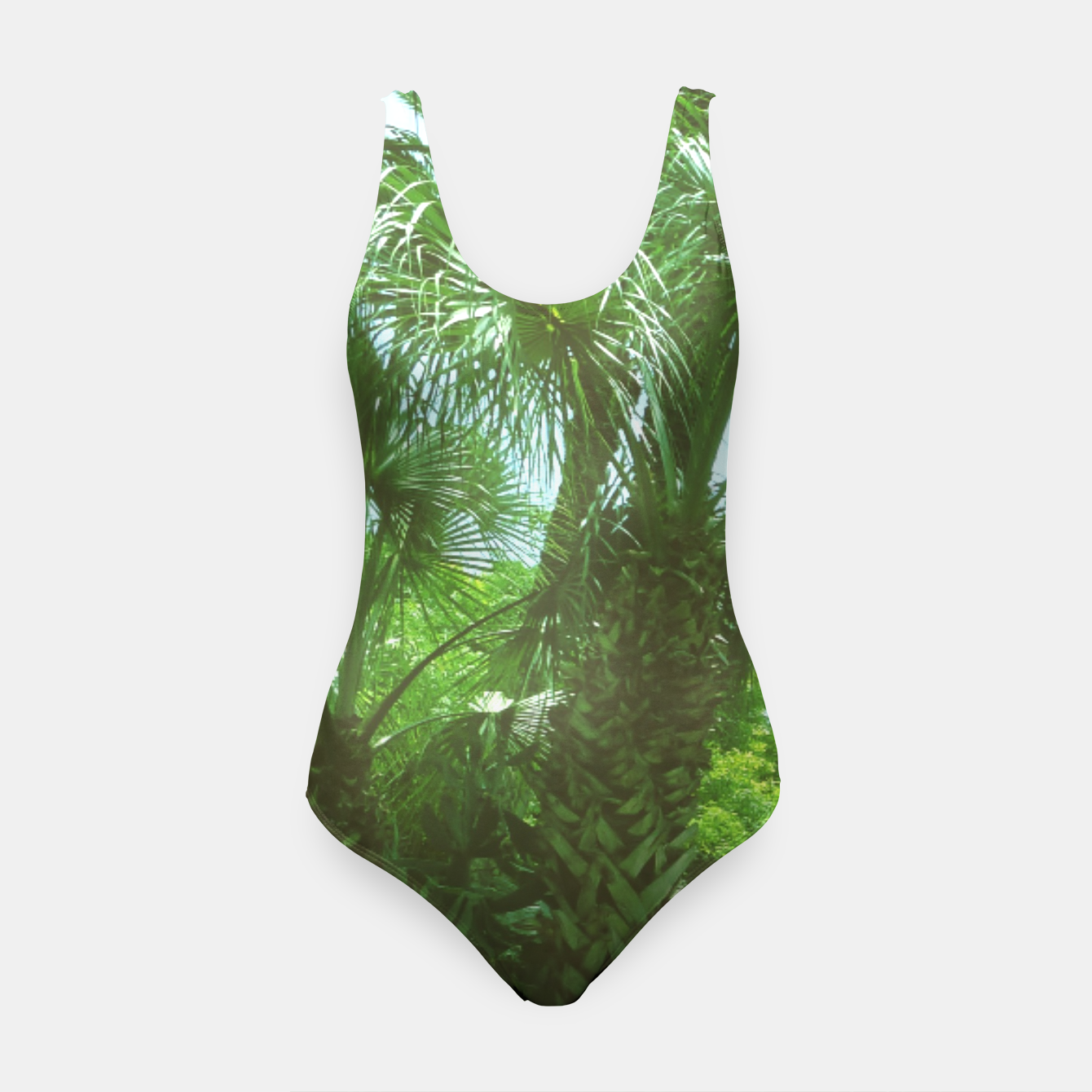 Image of Tropical Cacti Gardens and Greenery Swimsuit - Live Heroes