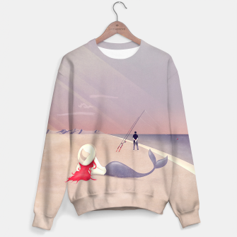 Miniatur Keep Fishing Sweatshirt, Live Heroes