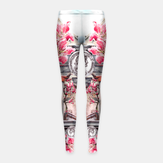 Thumbnail image of Ancient I Girl's Leggings, Live Heroes
