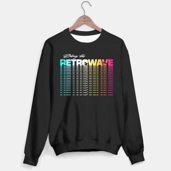 Thumbnail image of Riding the Retrowave Sweater regular, Live Heroes