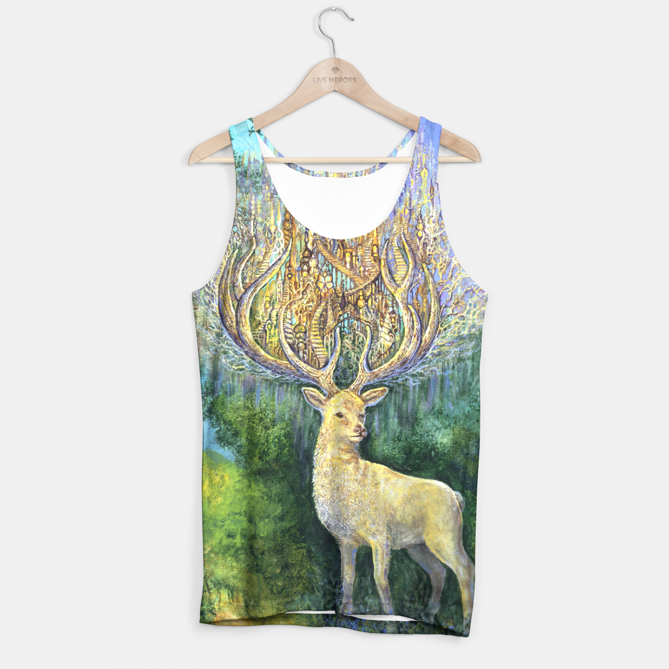 Image of The White Hart Tank Top - Live Heroes