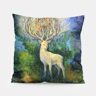 The White Hart Pillow thumbnail image
