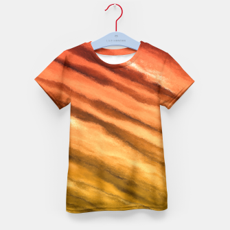 Fun in the Afternoon, Sunset Kid's T-shirt thumbnail image