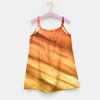Fun in the Afternoon, Sunset Girl's Dress thumbnail image